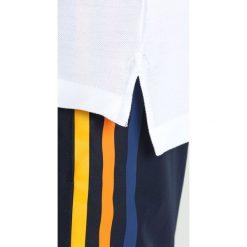 Lacoste Sport ROLAND GARROS  Koszulka polo blanc/marine medway. Białe koszulki polo Lacoste Sport, m, z bawełny. W wyprzedaży za 375,20 zł.