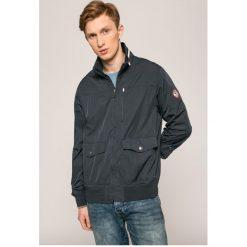 Mustang - Kurtka. Czarne kurtki męskie przejściowe marki Mustang, l, z bawełny, z kapturem. W wyprzedaży za 239,90 zł.