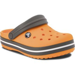 Klapki damskie: Klapki CROCS - Crocband Clog K 204537 Blazing Orange/Slate Grey