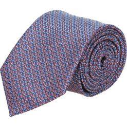 Krawat platinum niebieski classic 246. Niebieskie krawaty męskie Recman. Za 49,00 zł.