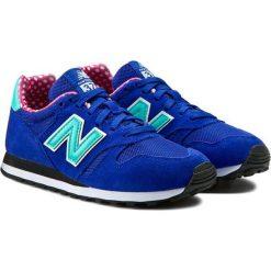Buty sportowe damskie: New Balance Buty damskie WL373BGP niebieskie r. 37.5