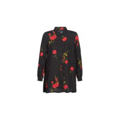 Sukienki krótkie Volcom  YEAH HONEY DRESS. Czarne sukienki hiszpanki Volcom, l, z krótkim rękawem, mini. Za 296,10 zł.