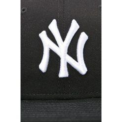 New Era - Czapka. Czarne czapki z daszkiem męskie New Era, z bawełny. W wyprzedaży za 119,90 zł.