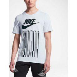 Nike Koszulka Nike INTL TEE szara r. L (847443 051-S). Szare t-shirty męskie marki Nike, l. Za 118,75 zł.