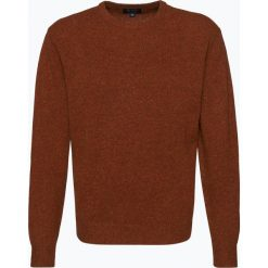 Swetry klasyczne męskie: Mc Earl – Sweter męski, pomarańczowy