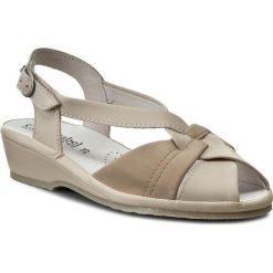 Rzymianki damskie: Sandały COMFORTABEL – 710122 Beige 8
