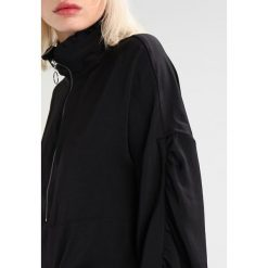 Bluzki asymetryczne: Noisy May NMMODE ZIP Bluzka black