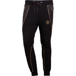 Spodnie dresowe męskie: Plein Sport JOGGING TROUSERS GOLD VIBE Spodnie treningowe black/gold