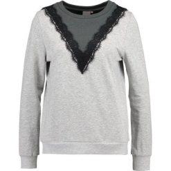 Bluzy rozpinane damskie: ICHI RIETTE Bluza ebony