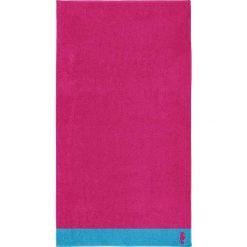 """Kąpielówki męskie: Ręcznik plażowy """"Cruise"""" w kolorze fuksji"""