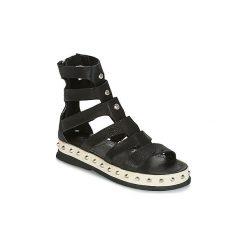 Sandały Airstep / A.S.98  PADOVA. Czarne sandały damskie Airstep / A.S.98. Za 687,20 zł.