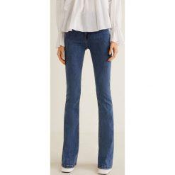 Mango - Jeansy Flare. Niebieskie jeansy damskie Mango. Za 139,90 zł.