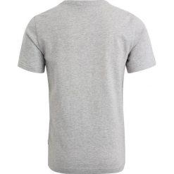 BOSS Kidswear KURZARM TROPICAL Tshirt z nadrukiem hell graumeliert. Niebieskie t-shirty chłopięce z nadrukiem marki BOSS Kidswear, z bawełny. Za 189,00 zł.