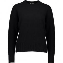 Sweter w kolorze czarnym. Czarne swetry klasyczne damskie Gottardi, s, z wełny, z okrągłym kołnierzem. W wyprzedaży za 195,95 zł.