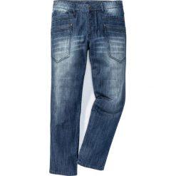 """Jeansy męskie regular: Dżinsy Regular Fit Straight bonprix niebieski """"stone used"""""""
