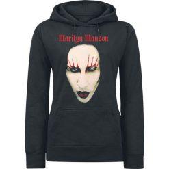Marilyn Manson Big Face Red Lids Bluza z kapturem damska czarny. Czarne bluzy z kapturem damskie Marilyn Manson, s. Za 121,90 zł.
