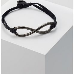 Bransoletki męskie: Icon Brand INFINITY Bransoletka black
