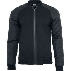 Urban Classics Diamond Nylon Sweatjacket Kurtka czarny. Niebieskie kurtki męskie pikowane marki Urban Classics, l, z okrągłym kołnierzem. Za 121,90 zł.
