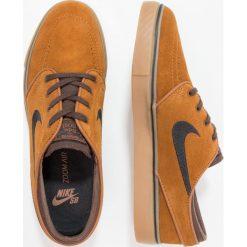 Nike SB ZOOM STEFAN JANOSKI Tenisówki i Trampki hazelnut/black/baroque brown/light brown. Brązowe trampki męskie Nike SB, z materiału. Za 359,00 zł.