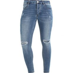 Jeansy męskie regular: Kings Will Dream LUMOR Jeans Skinny Fit lightwash