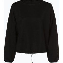 Opus - Damska bluza nierozpinana, czarny. Czarne bluzy damskie Opus, s, prążkowane. Za 249,95 zł.