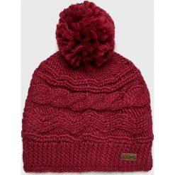 Roxy - Czapka. Brązowe czapki zimowe damskie Roxy, na zimę, z dzianiny. W wyprzedaży za 99,90 zł.