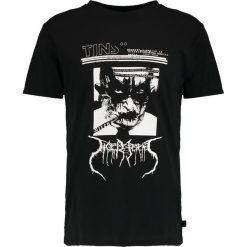 T-shirty męskie z nadrukiem: Tiger of Sweden Jeans FLEEK  Tshirt z nadrukiem black