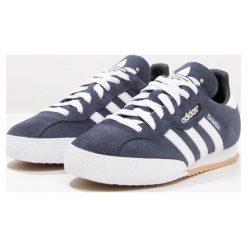 Adidas Originals SAMBA SUPER SUEDE Tenisówki i Trampki marine/running white. Niebieskie tenisówki damskie marki adidas Originals, z materiału. W wyprzedaży za 263,20 zł.