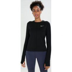 Nike Performance DRY CREW Koszulka sportowa black/silver. Czarne topy sportowe damskie Nike Performance, xl, z elastanu. W wyprzedaży za 159,20 zł.