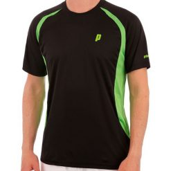 Koszulki sportowe męskie: PRINCE Koszulka Męska Crew M Bk/Gr r. XL (3M100079)