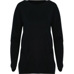 Czarny Sweter Morning Drizzle. Czarne swetry klasyczne damskie Born2be, na jesień, xl. Za 74,99 zł.