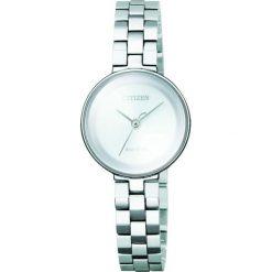 ZEGAREK CITIZEN Citizen L EW5500-57A. Białe, analogowe zegarki damskie CITIZEN, sztuczne. Za 1290,00 zł.