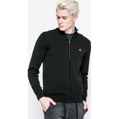 Lacoste - Sweter. Szare kardigany męskie marki Lacoste, z bawełny. W wyprzedaży za 429,90 zł.