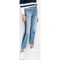 Levi's - Jeansy 501. Brązowe proste jeansy damskie marki Levi's®. Za 399,90 zł.