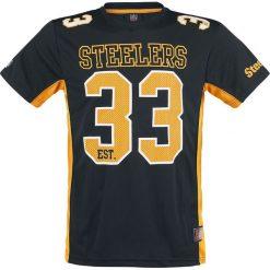 T-shirty męskie z nadrukiem: NFL Pittsburgh Steelers T-Shirt czarny