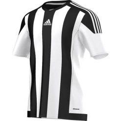 Adidas Koszulka piłkarska męska Striped 15 biało-czarna r. M (M62777). Białe koszulki do piłki nożnej męskie marki Adidas, m. Za 99,90 zł.