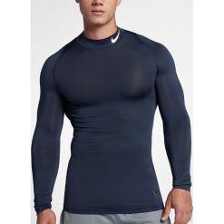 Nike Koszulka męska M NP TOP LS Comp MOCK  granatowa r. XL (838079 451). Czarne t-shirty męskie Nike, m. Za 114,00 zł.