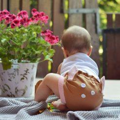 Spodnie niemowlęce: Bloomersy Jelonek, majtki