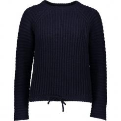 Sweter w kolorze czarnym. Czarne swetry klasyczne damskie Gottardi, s, z kaszmiru, z okrągłym kołnierzem. W wyprzedaży za 173,95 zł.