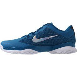 Nike Performance AIR ZOOM ULTRA Obuwie do tenisa Outdoor green abyss/metallic silver white. Niebieskie buty do tenisa męskie Nike Performance, z materiału. Za 379,00 zł.