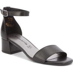 Rzymianki damskie: Sandały TAMARIS – 1-28394-20 Black Leather 003