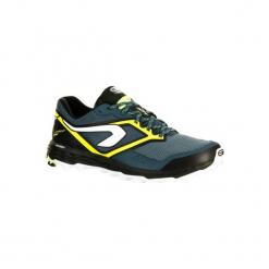 Buty do biegania KIPRUN TRAIL XT 7 męskie. Szare buty do biegania męskie marki KALENJI, z gumy. W wyprzedaży za 199,99 zł.