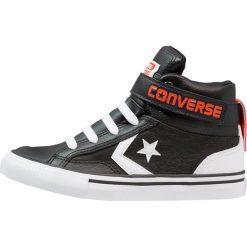 Converse PRO BLAZE STRAP JUNIOR Tenisówki i Trampki wysokie black/white/bright poppy. Czarne tenisówki męskie Converse, z materiału. Za 229,00 zł.