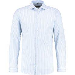 Koszule męskie na spinki: Eterna SUPER SLIM FIT HAI AUSPUTZ Koszula biznesowa bleu