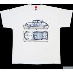 Koszulka CITROEN DS BLUE. Czarne t-shirty męskie marki Pakamera, m, z kapturem. Za 77,00 zł.