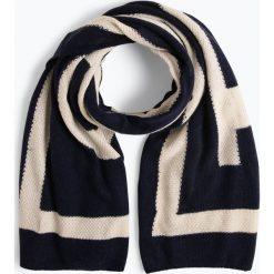 Polo Ralph Lauren - Szalik damski z domieszką alpaki, niebieski. Niebieskie szaliki damskie marki Polo Ralph Lauren, z dzianiny. Za 449,95 zł.