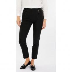"""Spodnie """"Inprenelle"""" w kolorze ciemnoszarym. Szare spodnie z wysokim stanem Scottage, w kratkę. W wyprzedaży za 113,95 zł."""