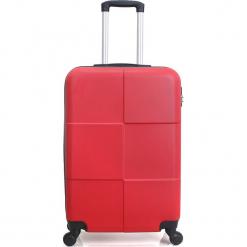 """Walizka """"Coronado"""" w kolorze czerwonym - 47 x 69 x 28 cm. Czerwone walizki Hero & BlueStar, z materiału. W wyprzedaży za 260,95 zł."""