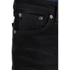 Nudie Jeans SKINNY LIN Jeans Skinny Fit black shadow. Czarne jeansy męskie marki Criminal Damage. W wyprzedaży za 431,20 zł.