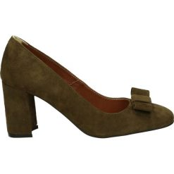 Czółenka - 2680 CAM VER9. Brązowe buty ślubne damskie Venezia, ze skóry. Za 189,00 zł.